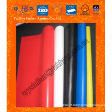 Impermeável PVC toldo toldo tecido com UV tratada