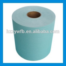 Cross Lapping/Parallel Spunlace Nonwoven Fabric