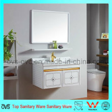 Aluminum Bathroom Wash Basin Top Vanity with Mirror