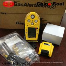 Detector de gas múltiple portátil Gas Alert Micro 5