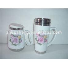 hochwertige moderne Kaffeetassen, übergroße Keramik Kaffeebecher, Tassen, personalisiert