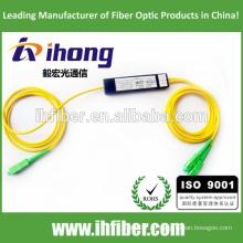 Fábrica SC / APC Singlemode ABS paquete Fibra óptica Splitter
