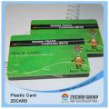 PVC tarjeta de fidelidad / plástico tarjetas de regalo / tarjeta de pago