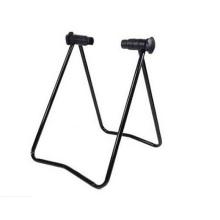 Plegable portátiles de bicicleta de metal stand de bicicleta de pie