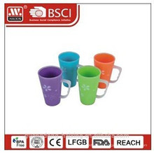 Plastic coffee mug 0.4L