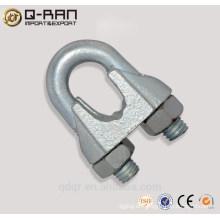 Reparto de Malleale galvanizado hierro Clip abrazadera Din741 cable Grip