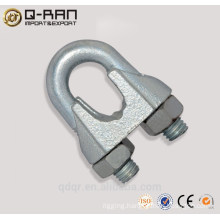 Galvanized Malleale Cast Iron Clip Clamp Wire Rope Clip Din 741