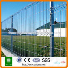 Iron wire mesh fence panel