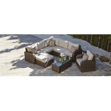 Garden Rattan Sofa Lounge Set Outdoor Patio Wicker Furniture