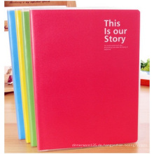 A5 Candy Farbe Notebook Schöne Kleber Set Tagebuch Notebook