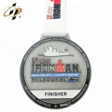 Medalla de deporte profesional de esmalte de metal de proveedor de oro de metal profesional