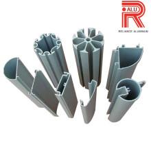 Perfis de extrusão de alumínio / alumínio para barracas de exposição