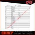 Dieselmotor Kolben für B3.3 4BT3.9 6BT5.9 6CT8.3 6L8.9 ISBe ISDe ISLe QSB QSC QSL ISF M11ISM QSM K19 K50 QSK ISX QSX NT855