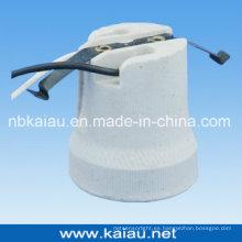 E27F519W Soporte para lámpara de porcelana