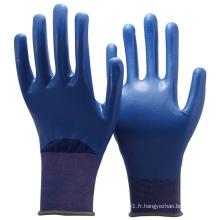 NMSAFETY 18gauge nitrile gros gants de travail de sécurité