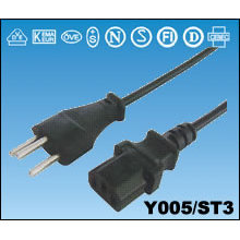 Cables de alimentación suizo SEV