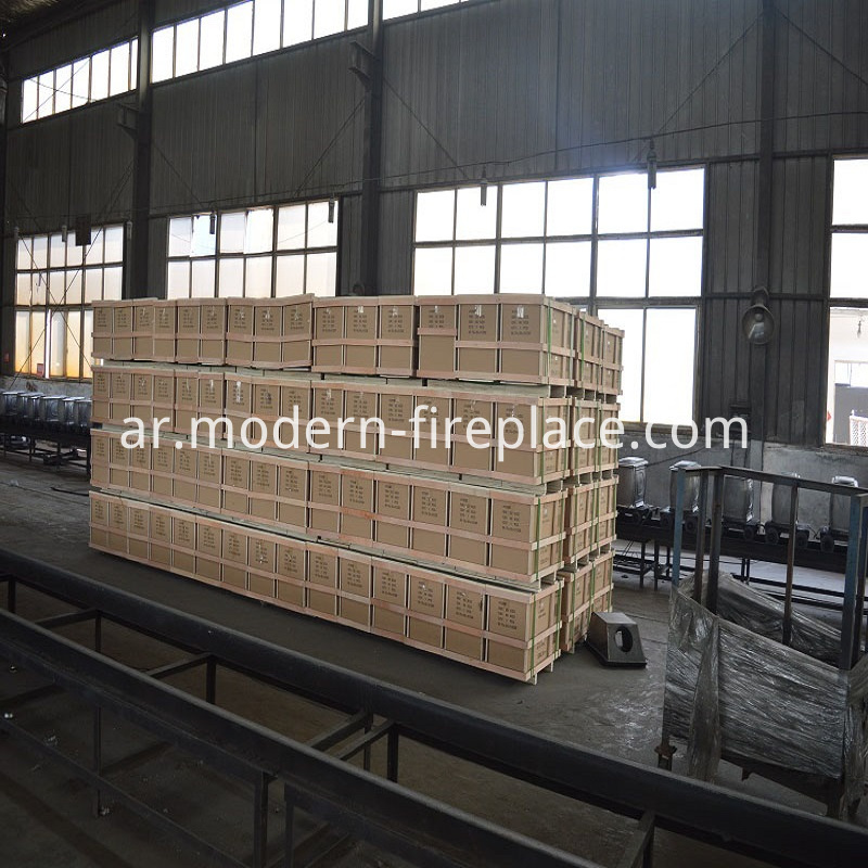 The Fireplaces Factory Packaging for Store