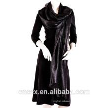 15STC2007 100% cashmere sacarves poncho shawl