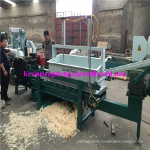 4 Axle 16 Blades 30 HP Diesel Engine Powered Wood Shaving Making Machining