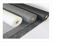 Black Recycled Stitch Bonded Fabrics
