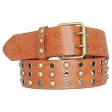 (KY1339) Studs Leather Fahion Man PU Belt