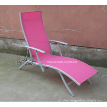 Teslin Mesh Outdoor Sunlounge Garden Beach Chair