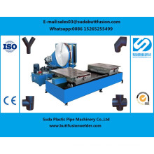 * Sdf90 / 315mm Taller de accesorios de tubería HDPE Butt-Welding Machine