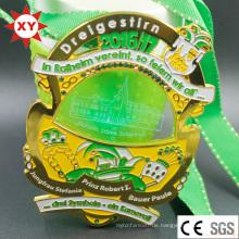 Medaille Fabrik verkaufen direkt benutzerdefinierte Medaille mit LED