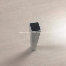 6063 Tube de tube d'extrusion en aluminium carré