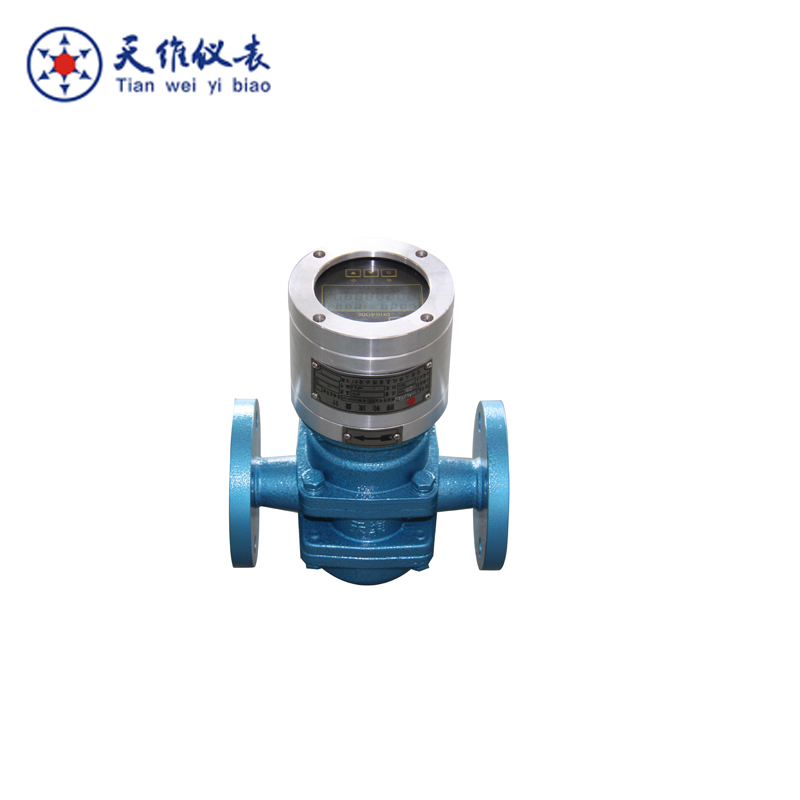 Digital oval gear flowmeter