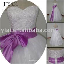 2011 Latest La mayoría de la nueva verdadera llegada real de alta calidad de piedras de cristal bola stylerystal embelleció los vestidos de boda 2011 JJ2431