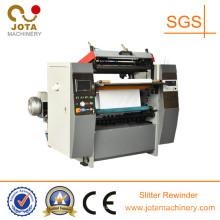 Máquina de corte longitudinal de papel de la máquina de rebobinado de la cortadora de papel del trazador