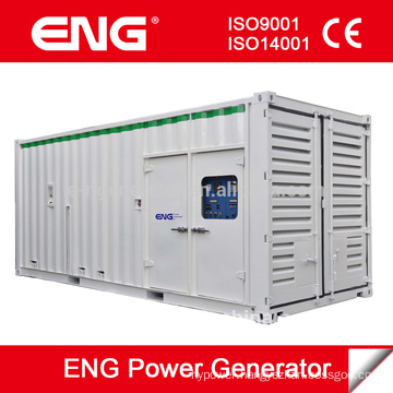 ENG 800kw silent generator with Cummins diesel engine on sale