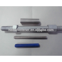 Duplex Thread Rod,Stud Thread Rod With Nut, UNS32205/S31803