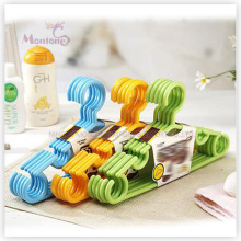 PP Plastic High Quality Kids Clothes Hanger Set of 5 (28*15.5cm)