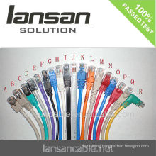 UTP cat5e cable patch cord LSZH ,jumper lan cable