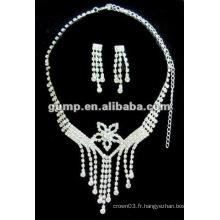 Dernier ensemble de bijoux de mariée (GWJ12-480)