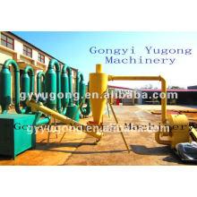Máquina de secagem em pó de madeira Yugong