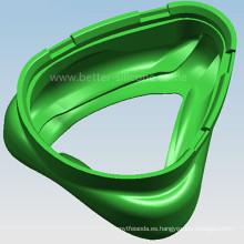 Consumibles médicos Máscara de oxígeno de silicona