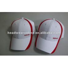 Werbe-günstige Sport-Cap und Hut mit flachen Stickerei