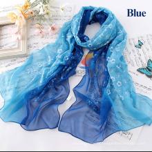 Moda bufandas de seda bufanda de seda de las mujeres Seda pura Prevenir bufandas bask chales bufandas de seda del palacio de viento impidieron toallas de playa bask