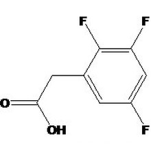 Acide 2, 3, 5-trifluorophénylacétique N ° CAS: 132992-28-0