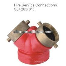 Preço de fábrica válvula de redução de pressão competitiva de latão válvula de hidrante