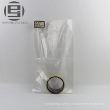 Sacs transparents d'emballage de plat de pe pour des marchandises