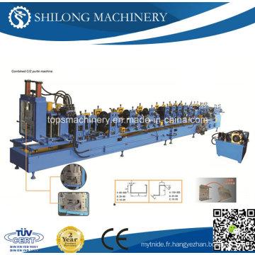 Machine hydraulique en forme de rouleau de quille de lumière d'angle U