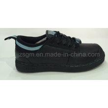 Chaussures de travail et de sécurité en acier inoxydable PU, lacet
