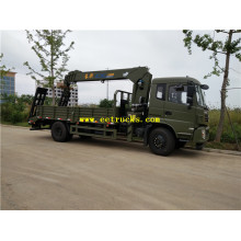 Dongfeng 8ton Light Duty Crane Trucks