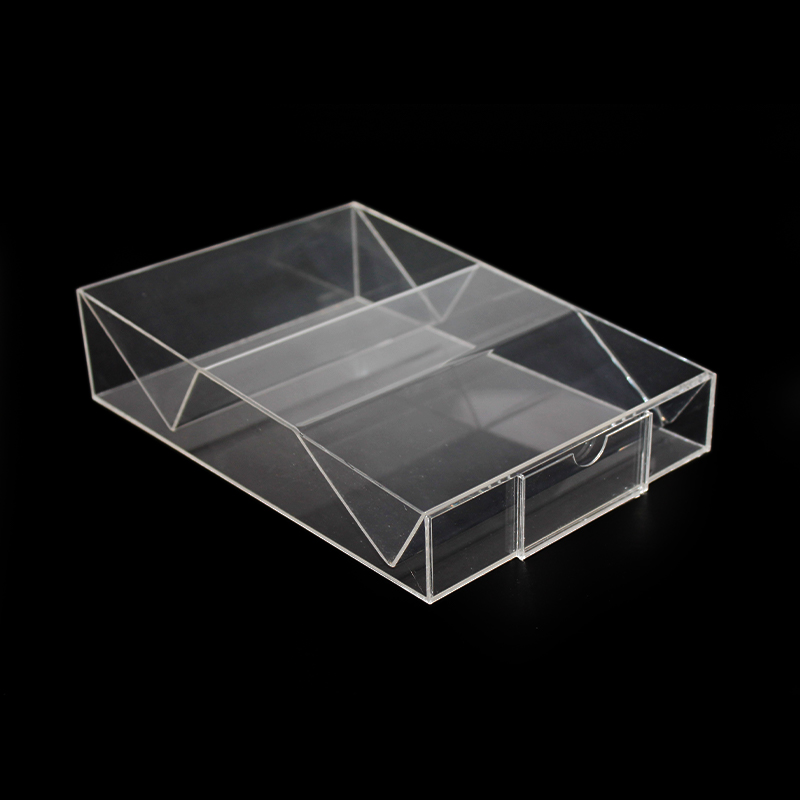 clear acrylic display case box