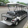 10 seaters gasoline golf cart with seat belt