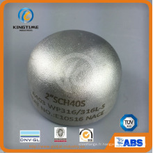 Raccords de tuyau de soudure bout à bout en acier inoxydable 304 / 304L avec TUV (KT0208)